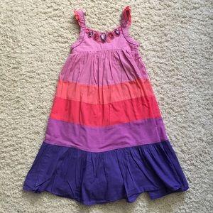 Monsoon Beaded Cotton Dress